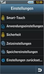 Samsung Jet - Fehlerbehebung - Handy zurücksetzen - 6 / 10