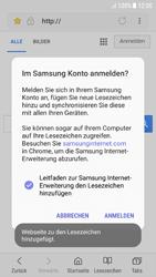 Samsung Galaxy A5 (2016) - Android Nougat - Internet und Datenroaming - Verwenden des Internets - Schritt 11