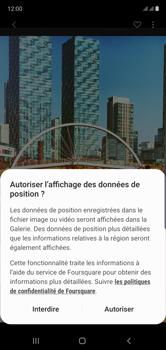 Samsung Galaxy Note 10 - Photos, vidéos, musique - Créer une vidéo - Étape 13