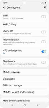 Samsung Galaxy A51 - Internet and data roaming - Disabling data roaming - Step 5