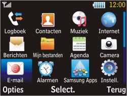 Samsung S3570 Chat 357 - E-mail - Hoe te versturen - Stap 3