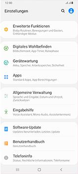 Samsung Galaxy A70 - Software - Installieren von Software-Updates - Schritt 4