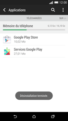 HTC One M8 - Applications - Comment désinstaller une application - Étape 8
