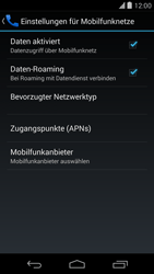 LG Google Nexus 5 - Ausland - Im Ausland surfen – Datenroaming - 0 / 0