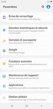 Samsung Galaxy J4 Plus - Données - créer une sauvegarde avec votre compte - Étape 4