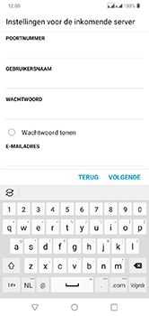 LG lg-q60-dual-sim-lm-x525eaw - E-mail - Account instellen (IMAP zonder SMTP-verificatie) - Stap 11