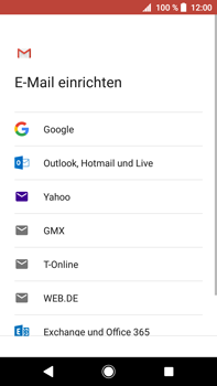 Sony Xperia XA2 Ultra - E-Mail - Konto einrichten (gmail) - Schritt 8
