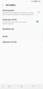 Samsung Galaxy Note 8 - Rete - Selezione manuale della rete - Fase 6