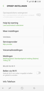 Samsung Galaxy S8 - Android Oreo (SM-G950F) - Bellen - WiFi Bellen (VoWiFi) - Stap 6