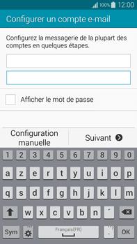 Samsung Galaxy Note 4 - E-mail - configuration manuelle - Étape 6