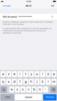 Apple iPhone 6 Plus - iOS 11 - Internet et connexion - Partager votre connexion en Wi-Fi - Étape 5