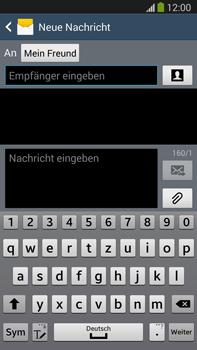 Samsung N9005 Galaxy Note 3 LTE - MMS - Erstellen und senden - Schritt 11