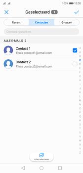 Huawei P20 - e-mail - hoe te versturen - stap 6