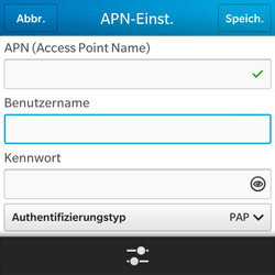 BlackBerry Q5 - Internet - Apn-Einstellungen - 9 / 22