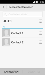 Huawei Ascend Y330 - Contacten en data - Contacten overzetten via Bluetooth - Stap 6