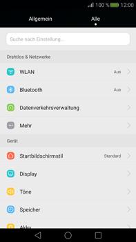 Huawei Mate S - Netzwerk - Netzwerkeinstellungen ändern - Schritt 3