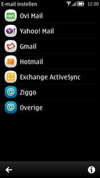 Nokia 700 - E-mail - handmatig instellen - Stap 5
