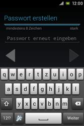 Sony Xperia E - Apps - Konto anlegen und einrichten - 9 / 17
