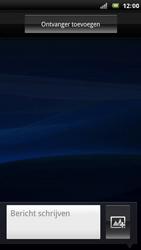 Sony Xperia Arc - MMS - Afbeeldingen verzenden - Stap 4