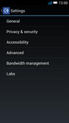 Alcatel Pop C7 - Internet and data roaming - manual configuration - Step 23