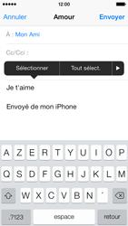 Apple iPhone 5c - E-mails - Envoyer un e-mail - Étape 9