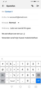 Huawei mate-20-pro-dual-sim-lya-l29 - E-mail - Bericht met attachment versturen - Stap 9