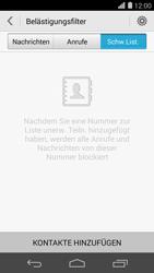 Huawei Ascend P7 - Anrufe - Anrufe blockieren - Schritt 6