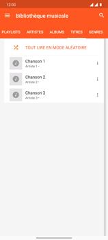 OnePlus 7T - Photos, vidéos, musique - Ecouter de la musique - Étape 7