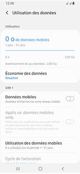 Samsung Galaxy A40 - Internet et connexion - Désactiver la connexion Internet - Étape 7