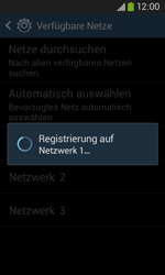 Samsung Galaxy Ace III - Netzwerk - Manuelle Netzwerkwahl - Schritt 9