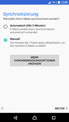 Sony Xperia X Compact - E-Mail - 032c. Email wizard - Outlook - Schritt 10