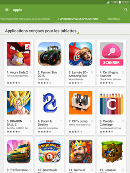 Samsung Galaxy Tab A - Applications - Télécharger une application - Étape 11