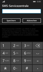 Nokia Lumia 635 - SMS - Manuelle Konfiguration - Schritt 7