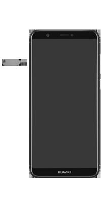 Huawei P Smart - Premiers pas - Insérer la carte SIM - Étape 2