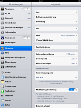 Apple iPad mini - Software - Installieren von Software-Updates - Schritt 6