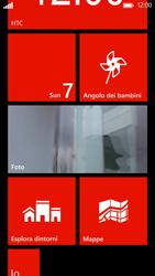 HTC Windows Phone 8X - Operazioni iniziali - Personalizzazione della schermata iniziale - Fase 5