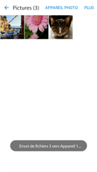 Samsung Galaxy J3 (2016) - Photos, vidéos, musique - Envoyer une photo via Bluetooth - Étape 13