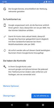 Sony Xperia XZ3 - Apps - Konto anlegen und einrichten - Schritt 14