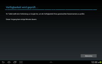 Samsung Galaxy Tab 2 10.1 - Apps - Einrichten des App Stores - Schritt 7