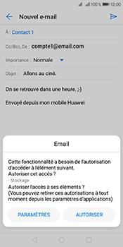 Huawei Y6 (2018) - E-mails - Envoyer un e-mail - Étape 11