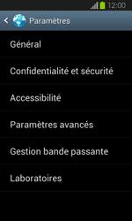 Samsung Galaxy Express - Internet et roaming de données - Configuration manuelle - Étape 20