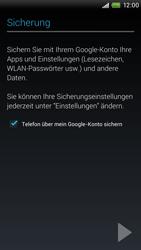 HTC One X - Apps - Einrichten des App Stores - Schritt 15