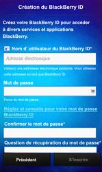 BlackBerry Z10 - Premiers pas - Créer un compte - Étape 10