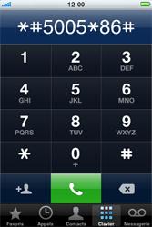 Apple iPhone 4 - Messagerie vocale - configuration manuelle - Étape 4
