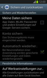 Samsung Galaxy S2 mit Android 4.1 - Fehlerbehebung - Handy zurücksetzen - 0 / 0