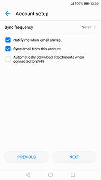 Huawei P10 Plus - E-mail - 032c. Email wizard - Outlook - Step 7