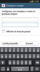 Samsung G386F Galaxy Core LTE - E-mail - configuration manuelle - Étape 6