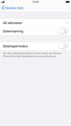 Apple iPhone 7 - iOS 13 - Internet und Datenroaming - Deaktivieren von Datenroaming - Schritt 6