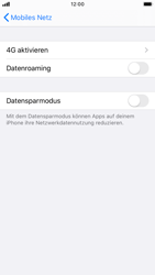 Apple iPhone 8 - iOS 13 - Ausland - Auslandskosten vermeiden - Schritt 8