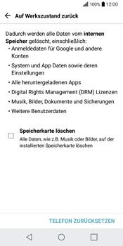 LG Q6 - Fehlerbehebung - Handy zurücksetzen - 9 / 13